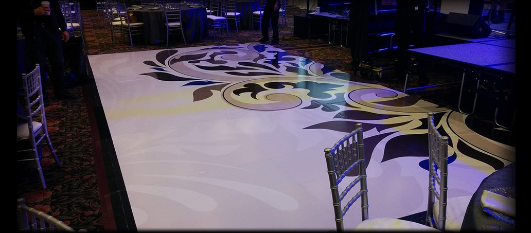 Custom Vinyl Floor Graphics